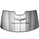 Corvette Accordion Style Sunshade - Insulated: 2005 - 2013 C6