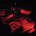 Corvette Footwell LED Lighting Kit : 2005-2013 C6