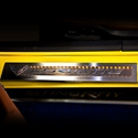 2014 C7 Corvette Stingray Door Sill Overlay with LED Lighting Kit - Brushed