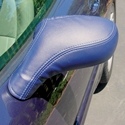 Corvette Speed Lingerie Mirror Covers : 2005-2013 C6,Z06,Grand Sport,ZR1