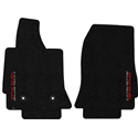C7 Corvette Stingray Floor Mats - Lloyds Mats with Sideways Corvette Racing Script Logo : Stingray, Z06
