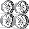 Corvette Custom Wheels - WCC Forged 944 (Set) : Chrome