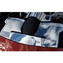 Corvette Radiator Cover - Polished Stainless Steel : 2008-2013 C6