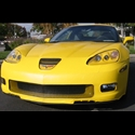 Corvette Bra Speed Lingerie Color Matched NO License Plate Pocket : 2006-2013 C6Z06, Grand Sport