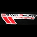 Corvette Grand Sport Emblem Wall Sign 35