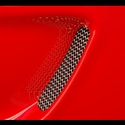 Corvette RaceMesh Side Fender Duct Grille Set : 97-04 C5