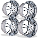 WCC Forged 947 EXT : Chrome 1997-2004 C5 & Z06