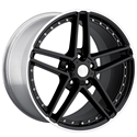 Corvette 2006 Z06 Reproduction Wheels 18X8.5 & 19X
