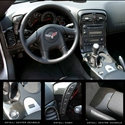 Corvette 2005 C6 Carbon Fiber Interior Dash Kit