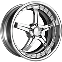 Corvette Wheels - WCC Forged 945 - Chrome : 19x9.5/20x11 2005-2011 C6