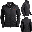 Corvette Jacket - Metro Soft Shell Womens Jacket : Black