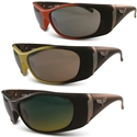 Corvette Sunglasses with C6 Logo - Solar Bat Style 1003
