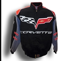 Corvette C6 Logo - Multi Color : 2005-2013 C6