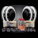 Corvette Brake Package - Baer EradiSpeed Plus Rotors/Hawk Pads : 1997-2013 C5,C6