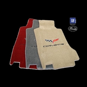 Corvette 2005-06 C6 Front Lloyd Ultimat Floor Mat Set