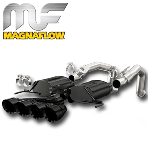 2014 Corvette Stingray Exhaust System - Magnaflow Axle-Back Performance Exhaust System Black