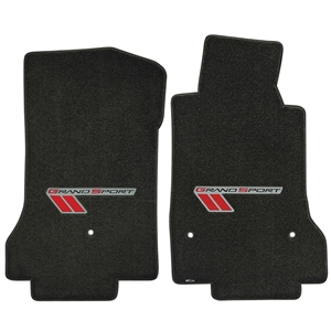 C6 Grand Sport Corvette Floor Mats - Single Logo : 2010-2013 Grand Sport