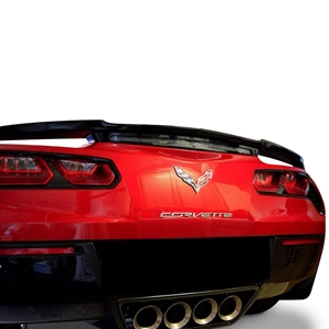 2014, 2015, 2016, 2017, C7 Corvette High Rise Factory Style Rear Spoiler - Painted : Stingray