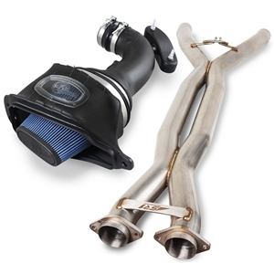 "SR1 Performance 3"" X-Pipe and aFe Momentum Pro 5R Air Intake System for C7 Corvette Stingray, Z51, Grand Sport"