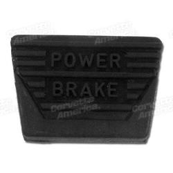 Corvette Pedal Pad. Power Brake Manual: 1963-1967